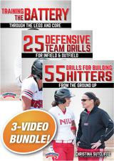 Christina Sutcliffe's Softball Drills 3-Pack